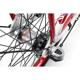 s'cool chiX 24 3-S alloy Kinder white/red